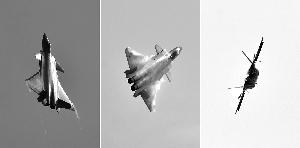 歼-20珠海航展亮相1分钟 高超机动能力展示性能