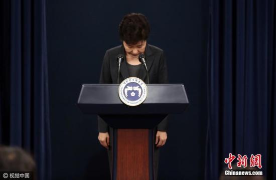 韩检方:朴槿惠最迟18日受查 特检法案提交国会