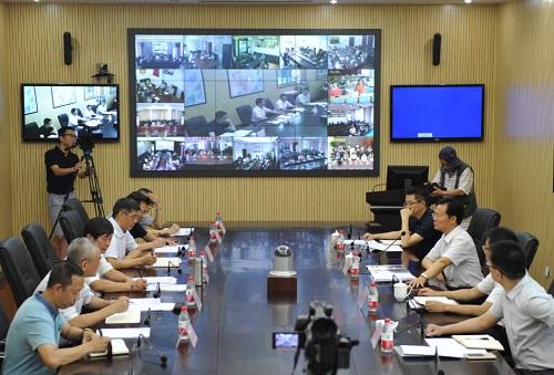 四川省政府副省长王铭晖到省地震局调研防震减灾工作