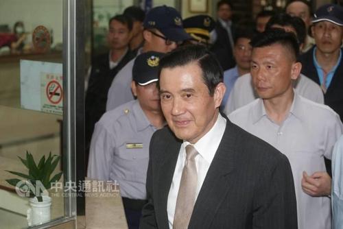 马英九被指泄密出庭应诉痛斥柯建铭:我没有犯罪