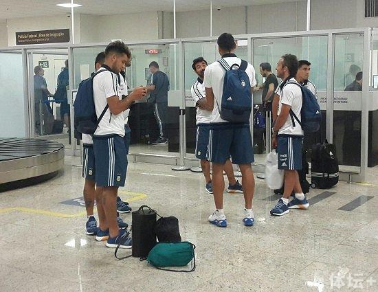 阿根廷队已有15人抵达