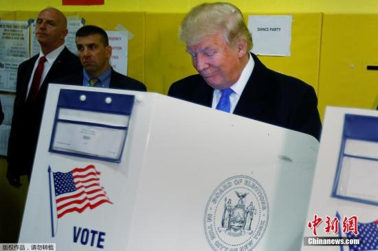 媒体:特朗普已做好两手准备 拟好败选演说