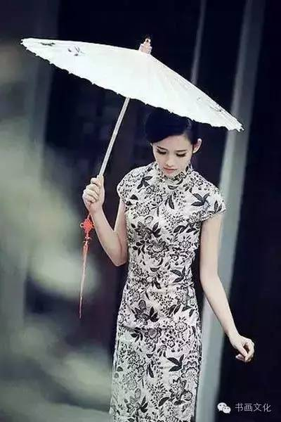 旗袍,最美女人花!