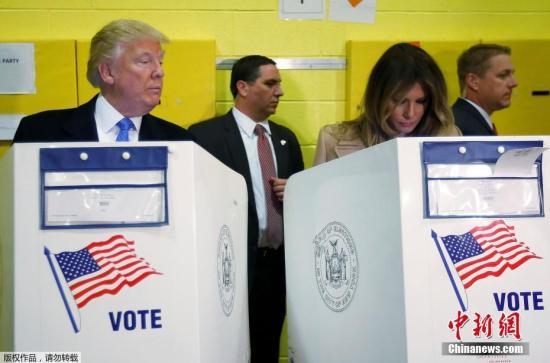 媒体称特朗普胜选几率升至95% 拿下多个关键州