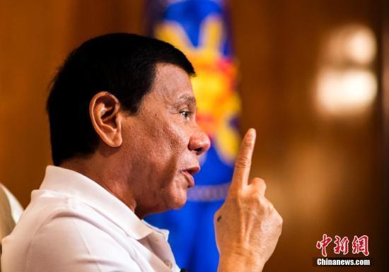 菲律宾总统杜特尔特祝贺特朗普当选美国总统