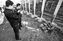 6人阻拦西安地铁四号线施工 煽动堵路被刑拘