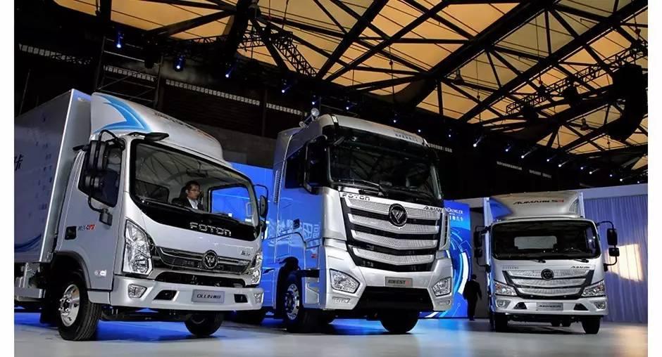 中国首款无人驾驶超级卡车问世 福田无人驾驶项目初露锋芒