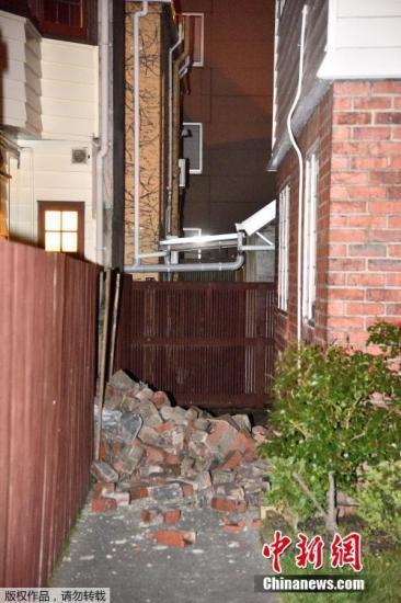 新西兰强震引发海啸 太平洋海啸预警中心发警报