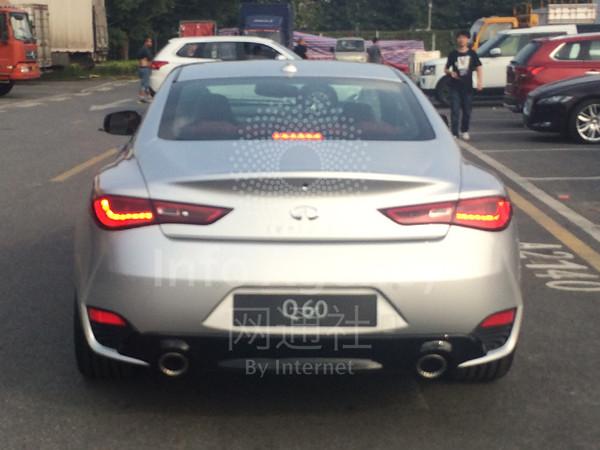 网通社车展探馆:英菲尼迪双门轿跑车Q60
