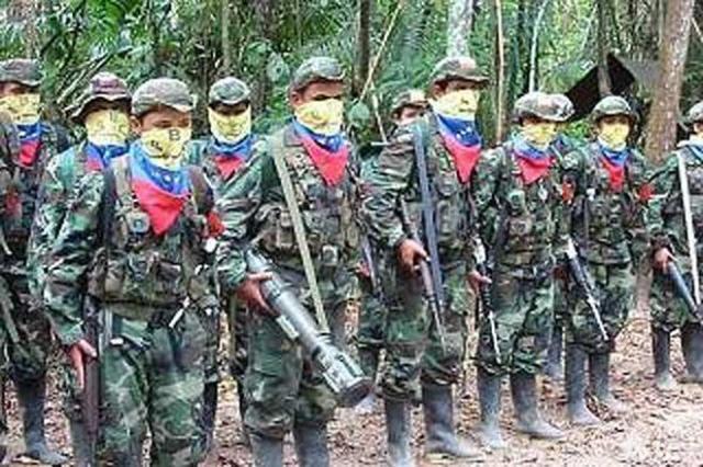 """哥伦比亚反政府武装""""哥武"""""""