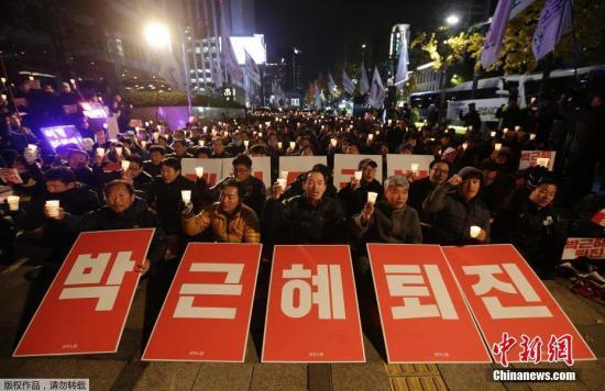 韩国在野三党将商讨要求总统下台行动计划