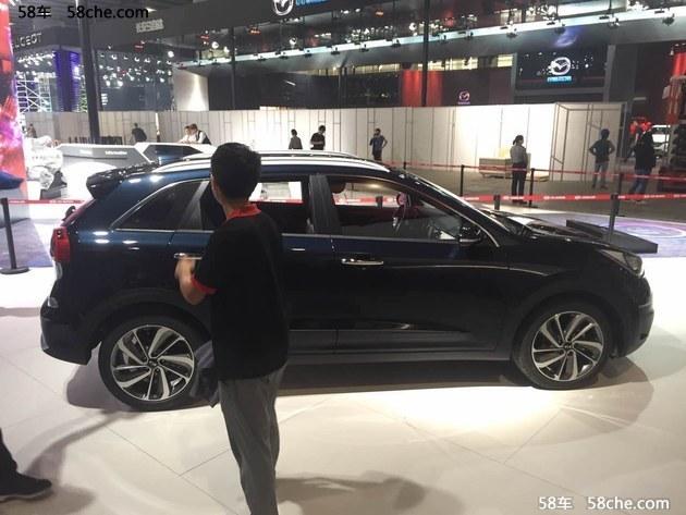 2016广州车展探馆 起亚Niro混动SUV曝光