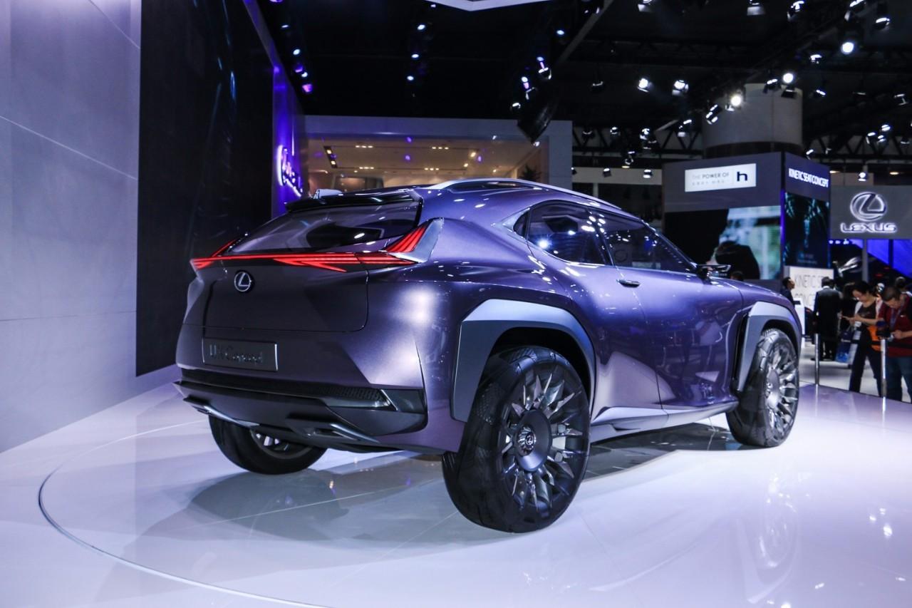 雷克萨斯UX概念车亮相