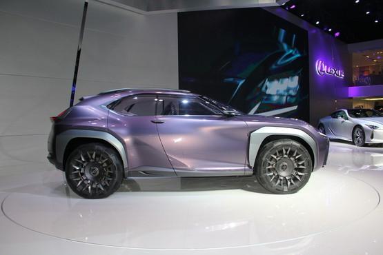 雷克萨斯UX概念车车展亮相 国内首发