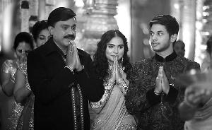 印度官二代奢华婚礼惹众怒:花费5.1亿人民币