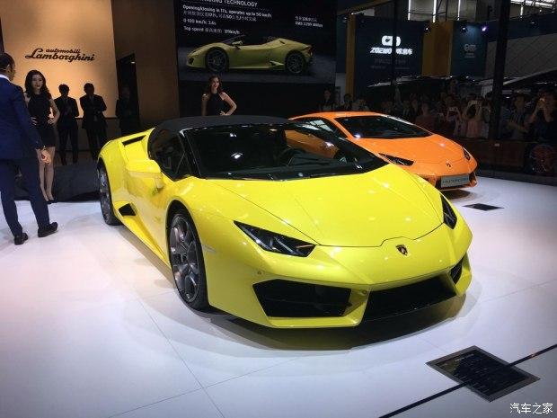 2016广州车展:Huracan Spyder LP580-2
