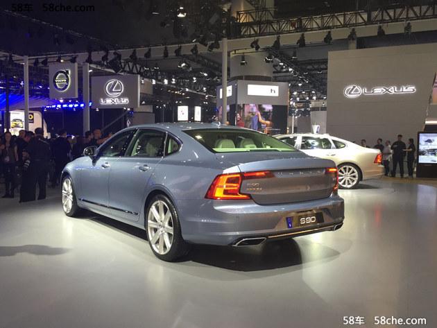 2016广州车展 沃尔沃S90L公布预售价格