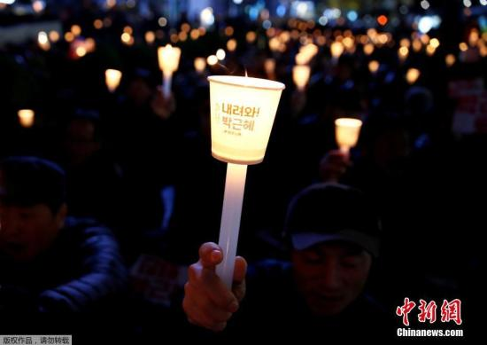 韩国将举行第五轮集会 拟筑百万人墙包围总统府