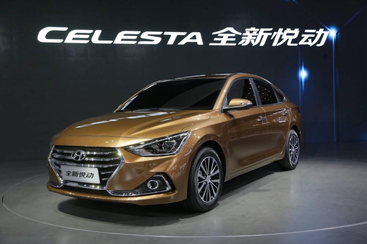 8年后的改款,内外彻底革新 现代全新悦动广州车展首发