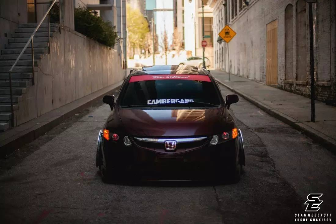 2016 Honda Civic Si 第八代的辉煌时光 本田思域Si改装案例-新浪汽车