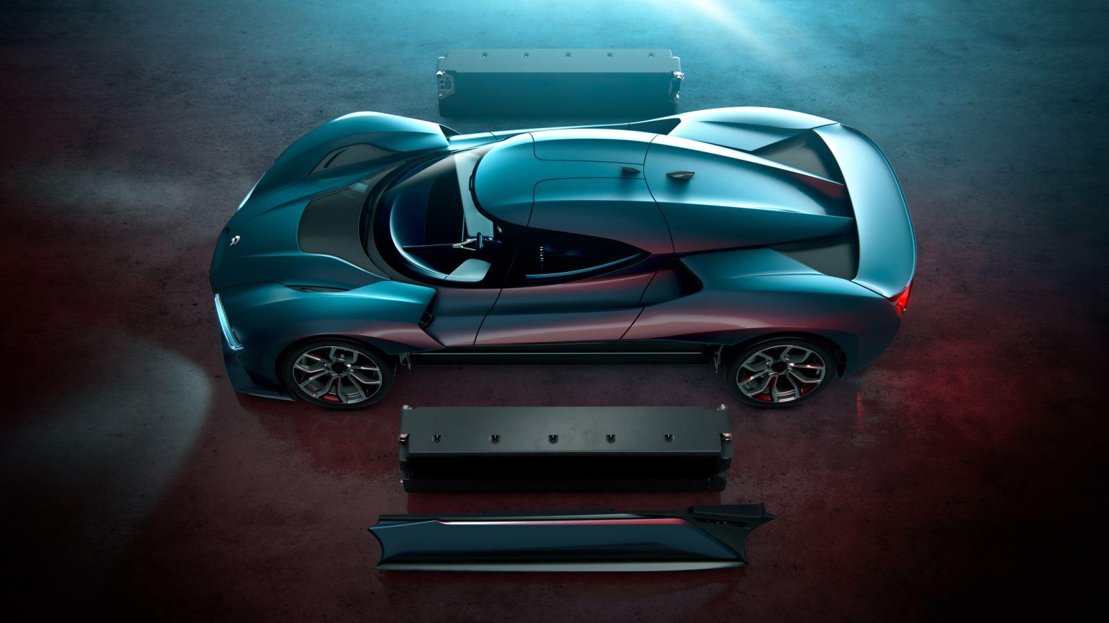 商业早报 全球最快的电动车来了 造价120万美元的蔚来汽车可量产