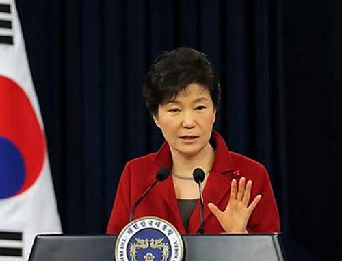 韩国总统朴槿惠(资料图)