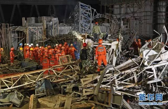 江西电厂事故74人遇难 幸存者:十分钟平台坍塌