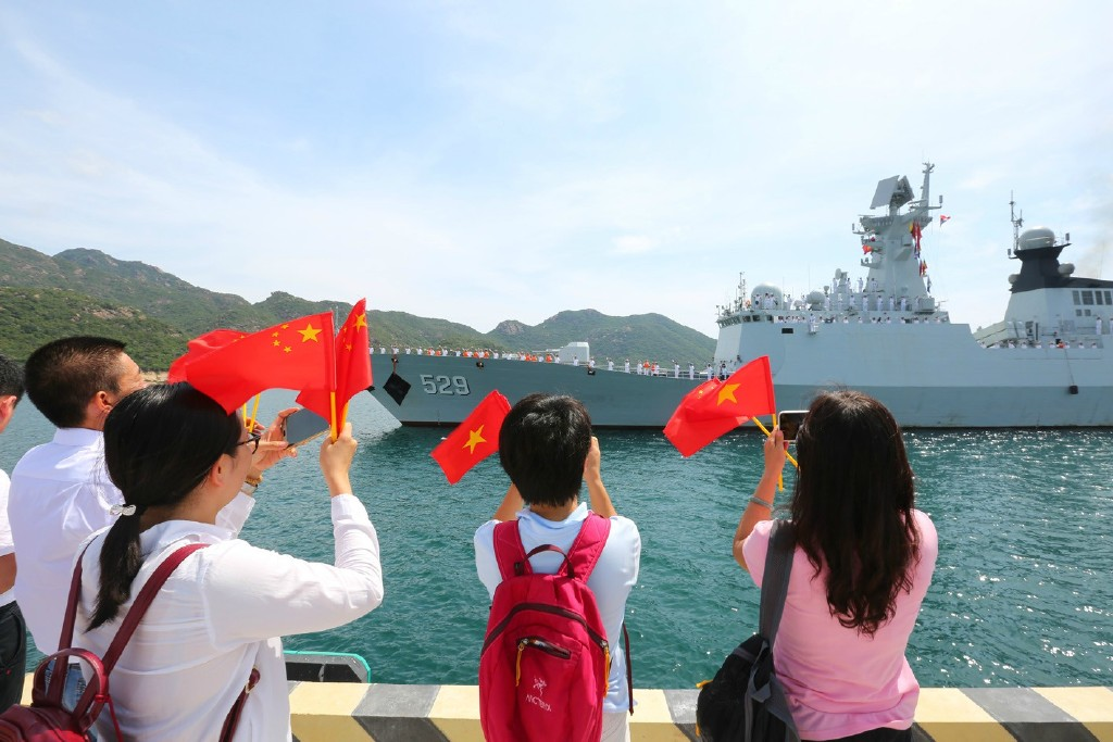 美司令 中国海军是我最大担忧 中国海警排第二图片