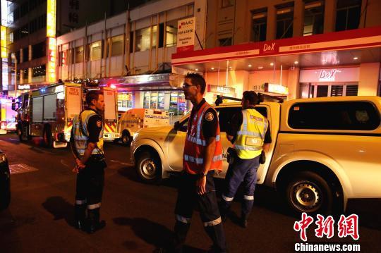 悉尼唐人街发生瓦斯爆炸 16人受伤含2童