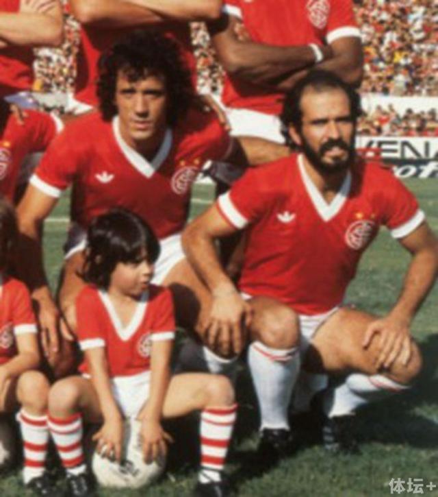 球员时代的庞特斯曾效力于巴西国际