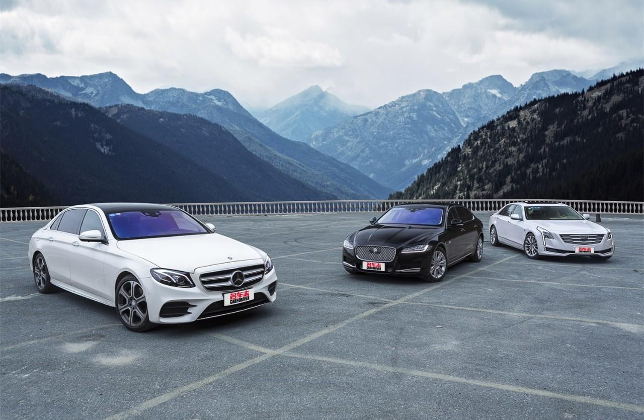360°无死角对比奔驰E级、捷豹XFL以及凯迪拉克CT6,结论是… | 三车