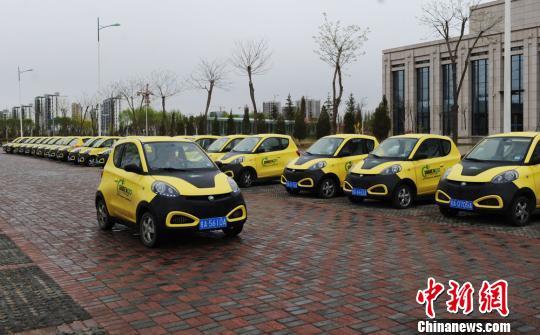 资料图:新能源汽车。杨艳敏 摄