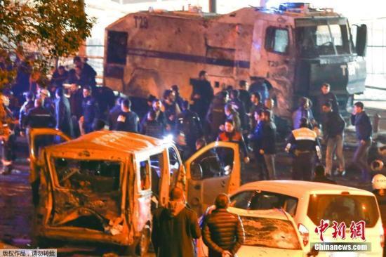 土耳其爆炸袭击致29死166伤 当局逮捕10名嫌犯