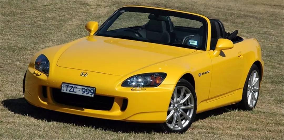 本田死忠党上个月竟然买到一辆全新S2000