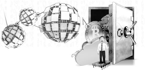 区块链闯入公众视野 是否会成为下一个风口?