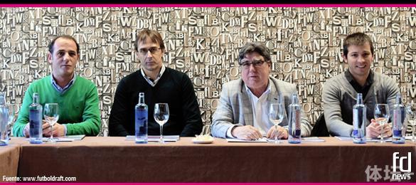 评委:左二洛佩特吉,右一塞拉德斯