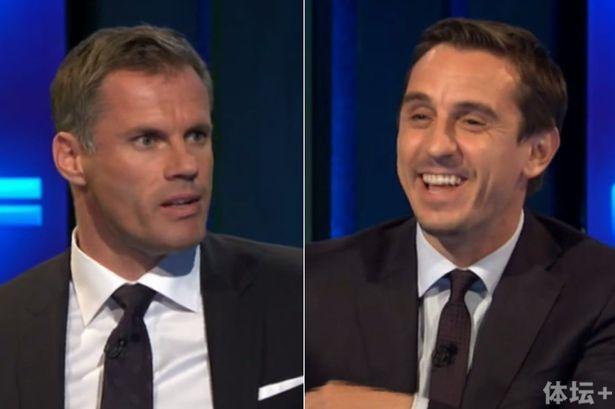 卡拉格和内维尔皆认为巴克利应当被红牌罚下