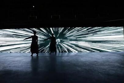 2016深圳新媒体艺术节 数字化艺术的光影美