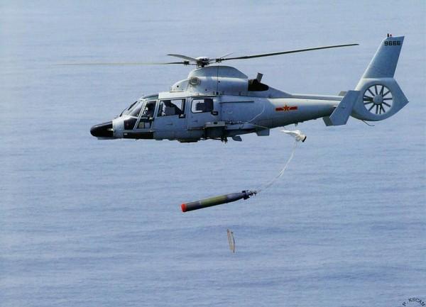 直-9反潜侦察机投掷声纳