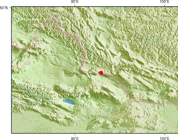 12月28日7时14分蒙古发生3.1级地震