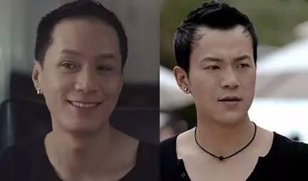两只瘦美的男子