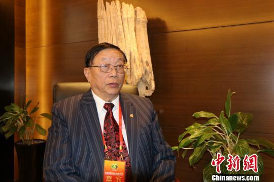 1月1日,台湾中华两岸交流协会会长刘宗明在福建晋江表示,两岸寻求合作双赢的意愿不减。 牛效礼 摄