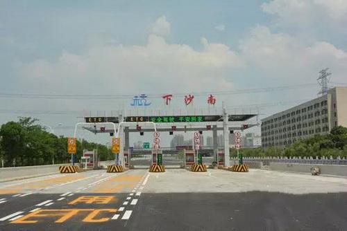 [浙江]杭州绕城下沙南出口1月1日零时起开通启