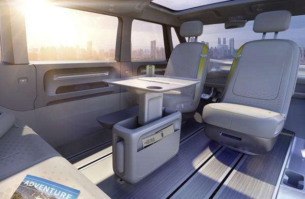 2017年北美车展: 大众全新纯电动面包车