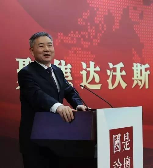 中國國際經濟交流中心副總經濟師徐洪才。中新社夏賓 攝