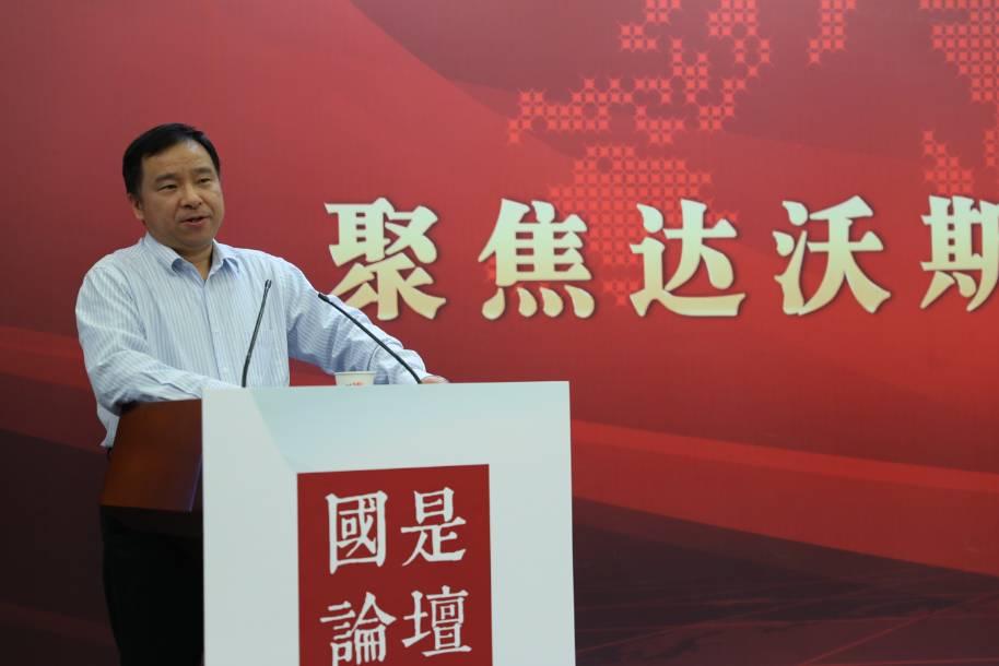 北京大學經濟研究所常務副所長蘇劍。中新社夏賓 攝