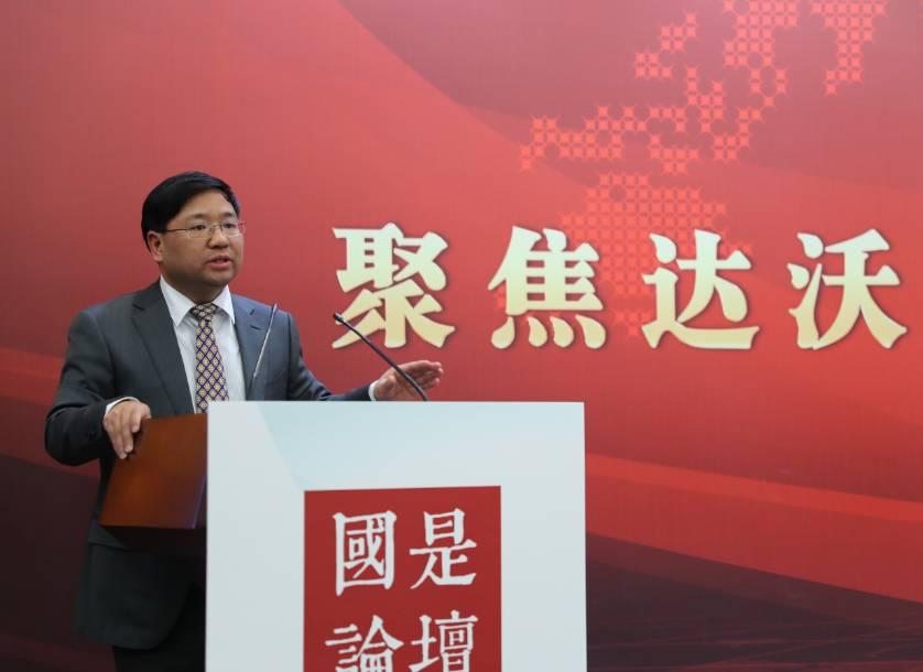 南開大學世界經濟研究中心研究員彭支偉。中新社夏賓 攝