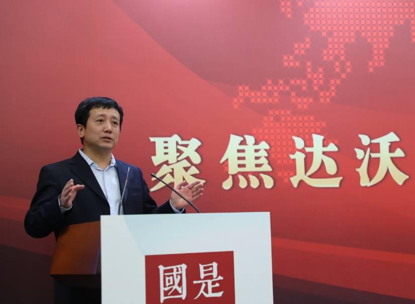 商務部國際貿易經濟合作研究院研究員梅新育。中新社夏賓 攝