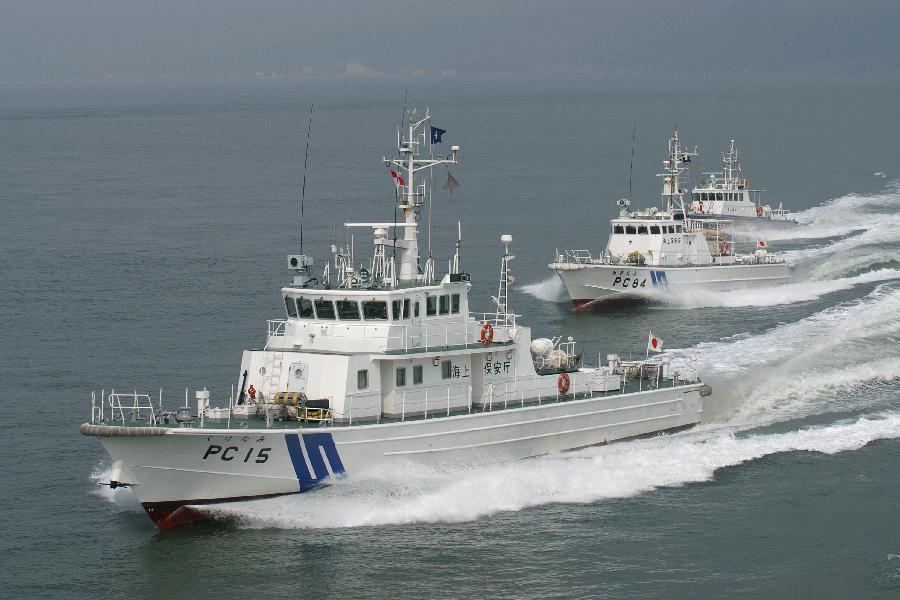资料图:日本海上保安厅巡逻船