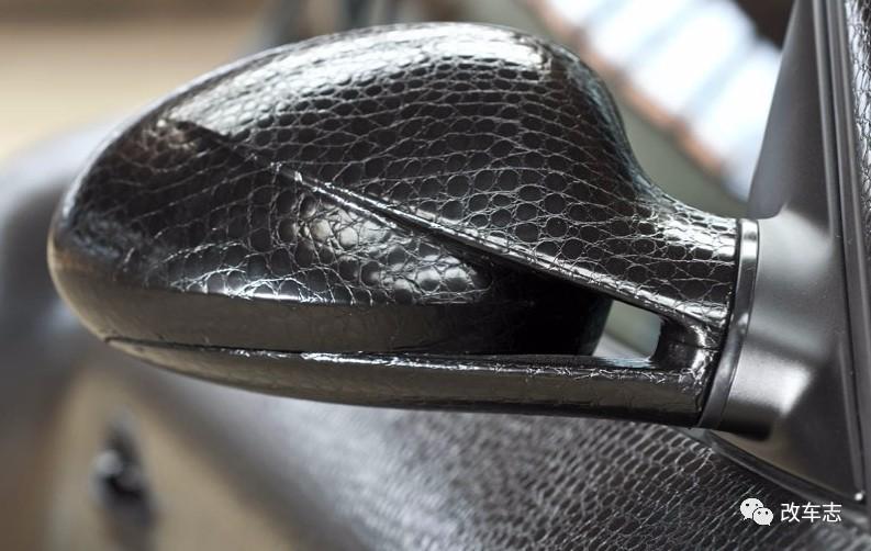碳纤贴膜见得多 皮革贴膜问你见过没